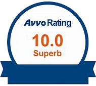 AVVO Rated '10/10' Superb Distinguished Lawyer Designation