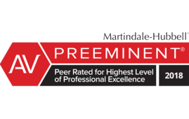 Martindal Hubble AV Preeminent Peer-Review Rating